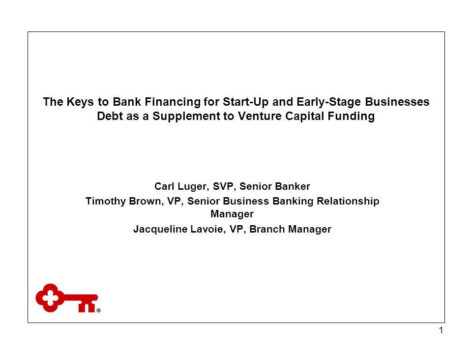 2 Each of the financing alternatives follows a fairly linear trend of flexibility vs.