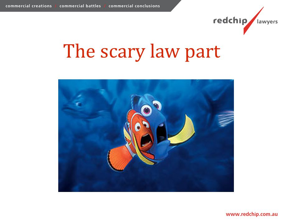 The scary law part