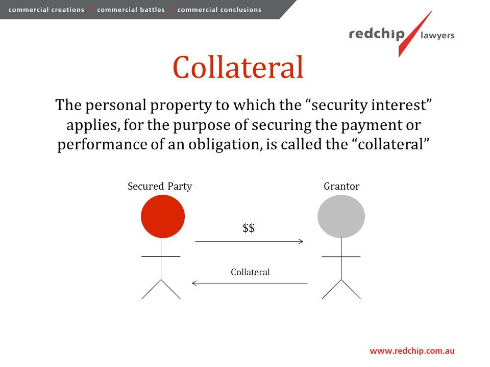 Attachment A security interest attaches to collateral when:  the grantor has rights in the collateral, or the power to transfer rights in the collateral to the secured party; and  either: -the secured party gives some value for the security interest; or -the grantor does an act by which the security interest arises