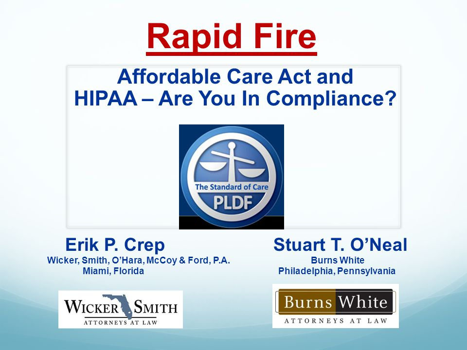 New Approaches to Attacking Damages Affordable Care Act