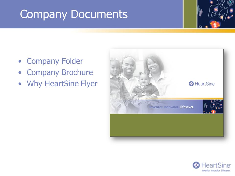Company Documents Company Folder Company Brochure Why HeartSine Flyer