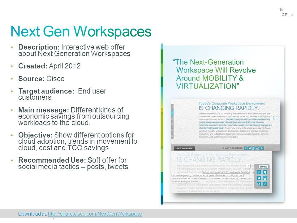 Cisco Confidential 15 © 2010 Cisco and/or its affiliates.