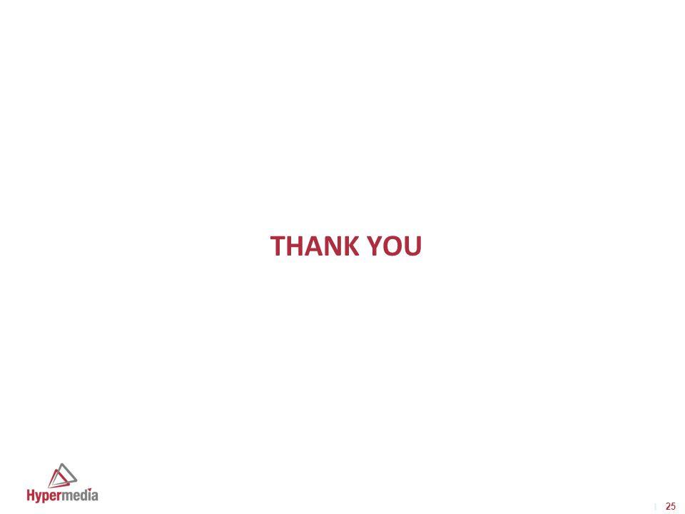 I I 25 THANK YOU