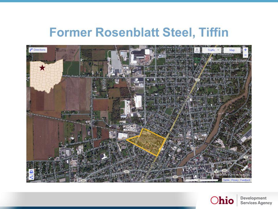 Former Rosenblatt Steel, Tiffin