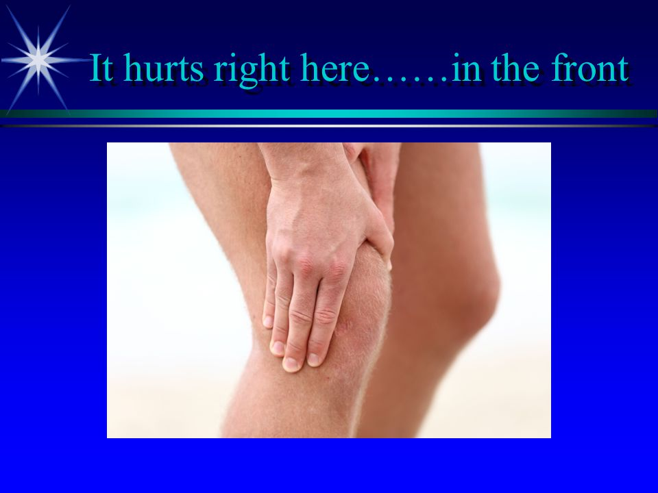 Special Tests for Menisci ä McMurray ä 52% sensitive / 97% specific ä Apley Grind ä Flick ä Several studies have concluded that a negative physical exam can reliable exclude meniscal pathology Jackson J, O'Malley P, Kroenke K.