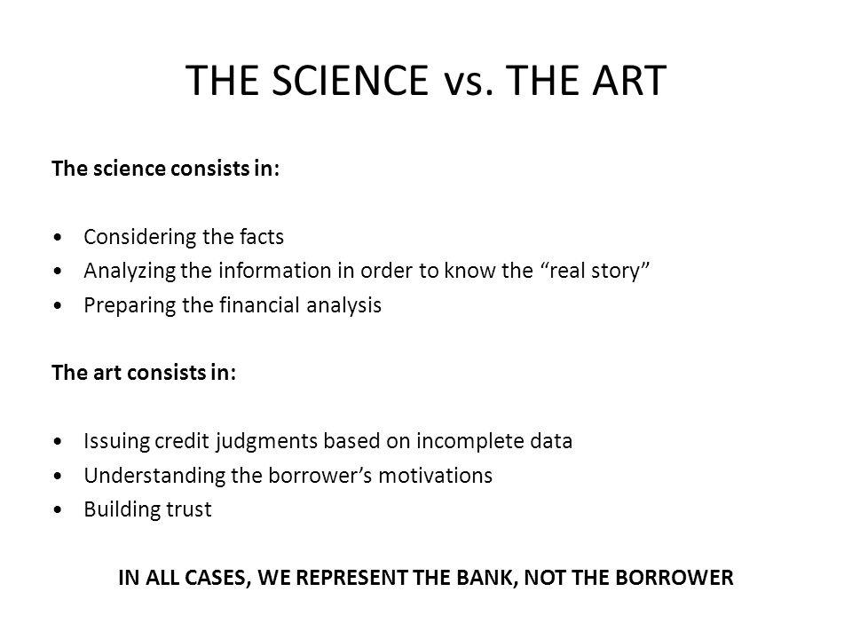 THE SCIENCE vs.
