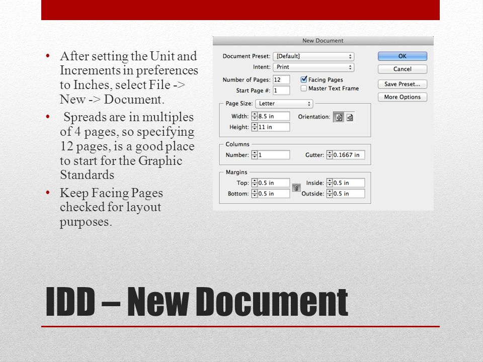 IDD – Place Text/Objects Text/copy that is not being generated within the IDD program needs to be Placed in the document.