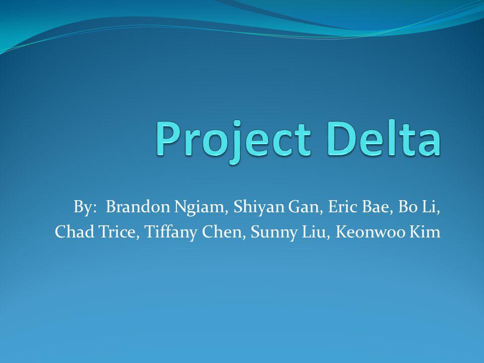 By: Brandon Ngiam, Shiyan Gan, Eric Bae, Bo Li, Chad Trice, Tiffany Chen, Sunny Liu, Keonwoo Kim