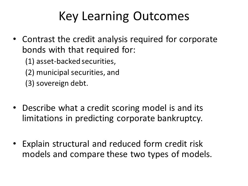 Altman's Z-Score Model This uses a statistical technique, Multiple Discriminate Analysis (also could use logit or probit analysis) to classify firms into those likely to become bankrupt or non-bankrupt over a given future horizon.