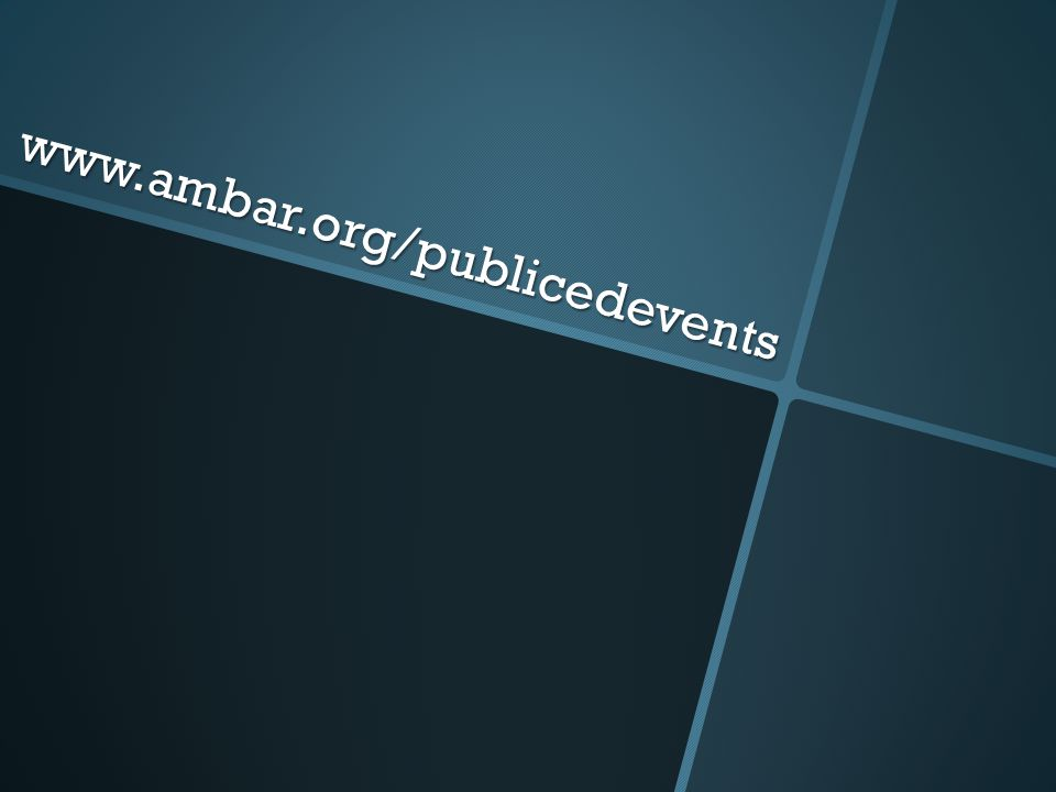 www.ambar.org/publicedevents