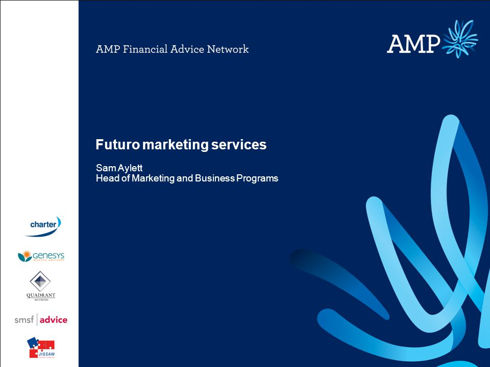 Futuro marketing services Sam Aylett Head of Marketing and Business Programs