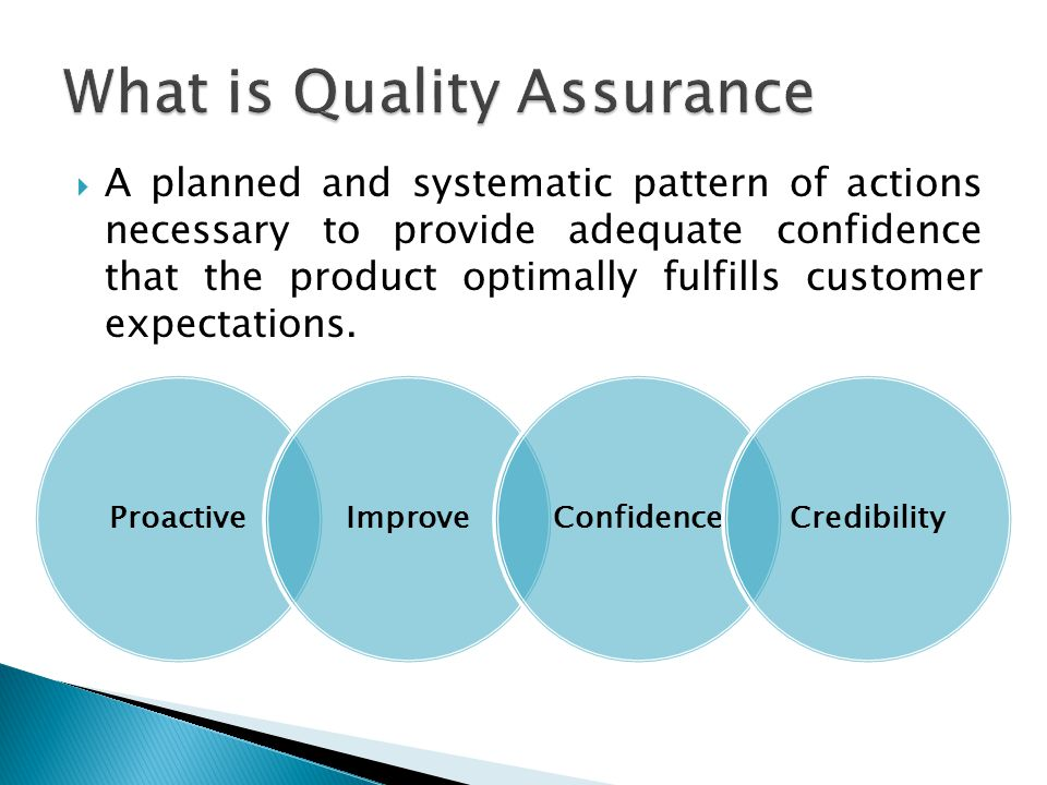  Create a culture of quality  Good fidelity = replication of results  Mission reduce recidivism