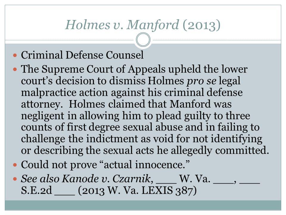 Holmes v.