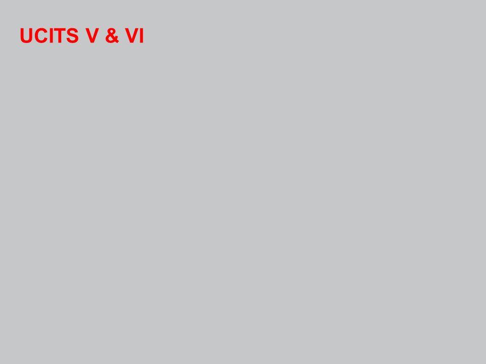 UCITS V & VI