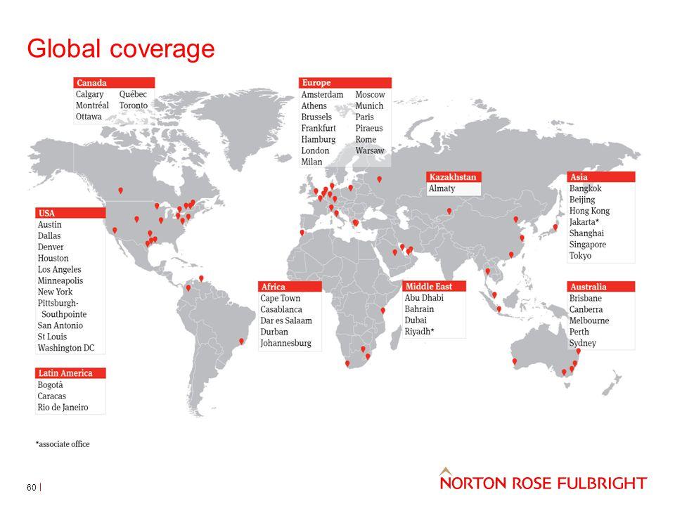 Global coverage 60