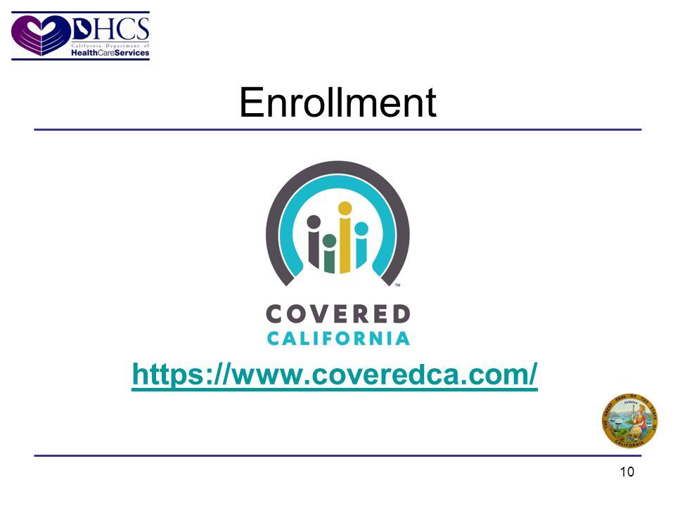 https://www.coveredca.com/ Enrollment 10