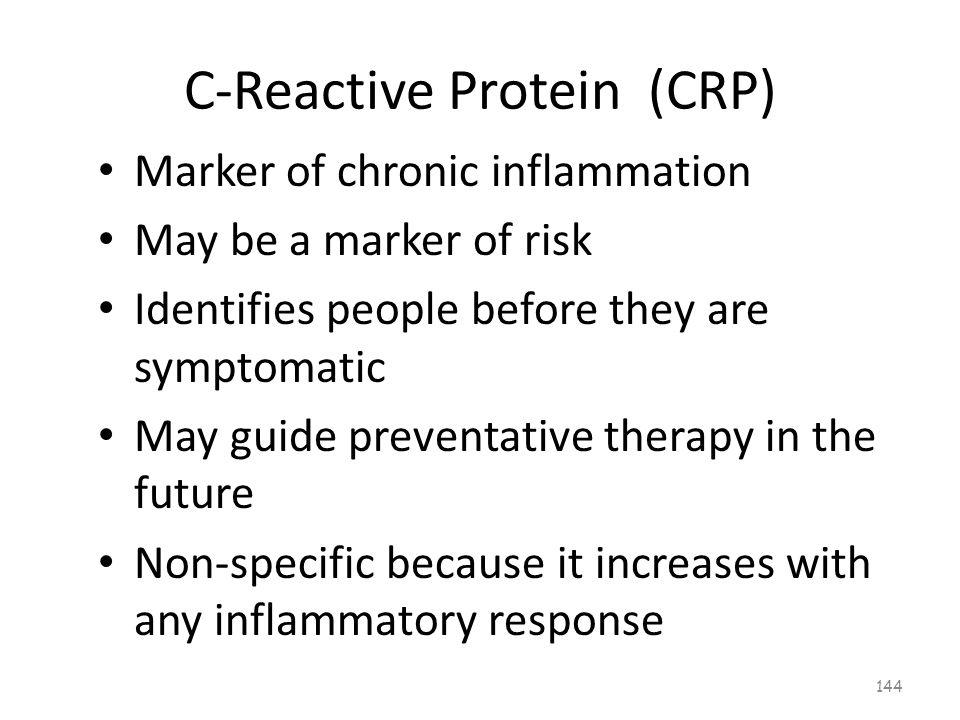 C-Reactive Protein (CRP) 143