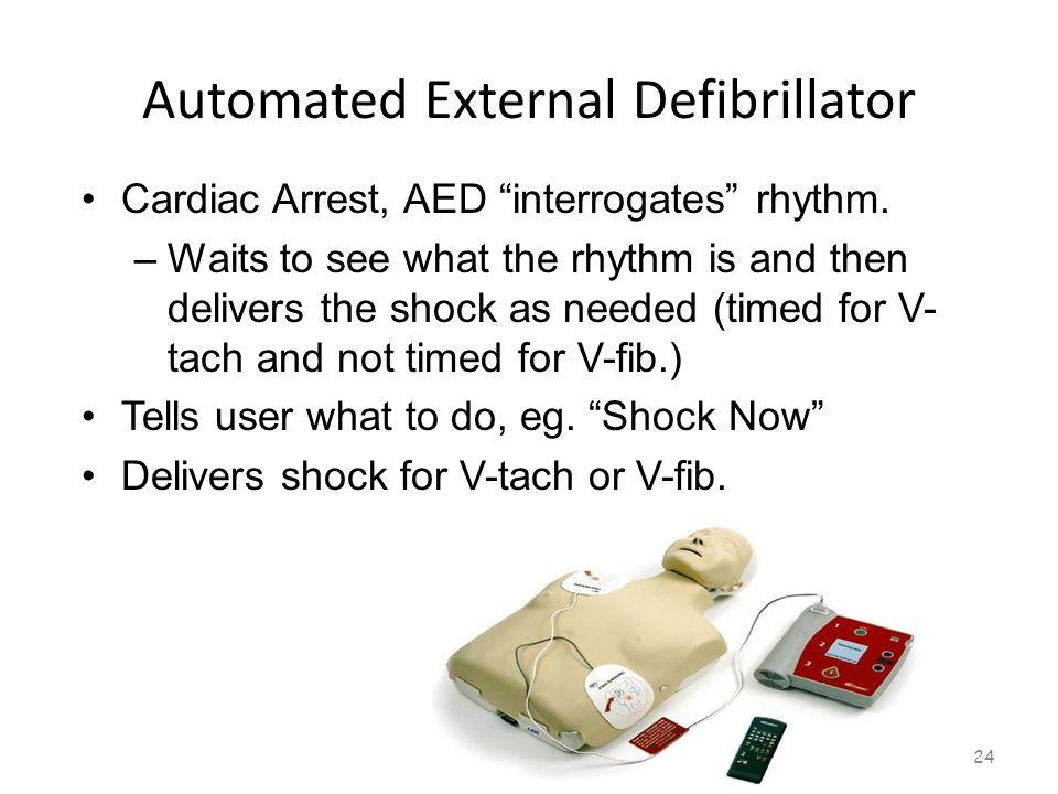 Automated External Defibrillator 23