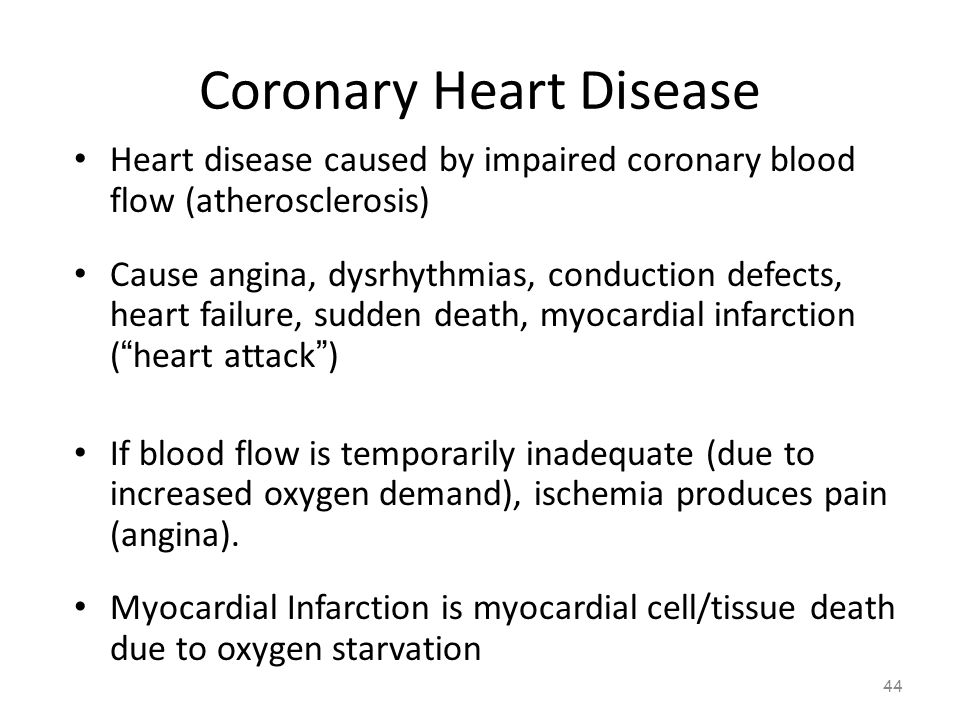 Coronary Heart Disease 43