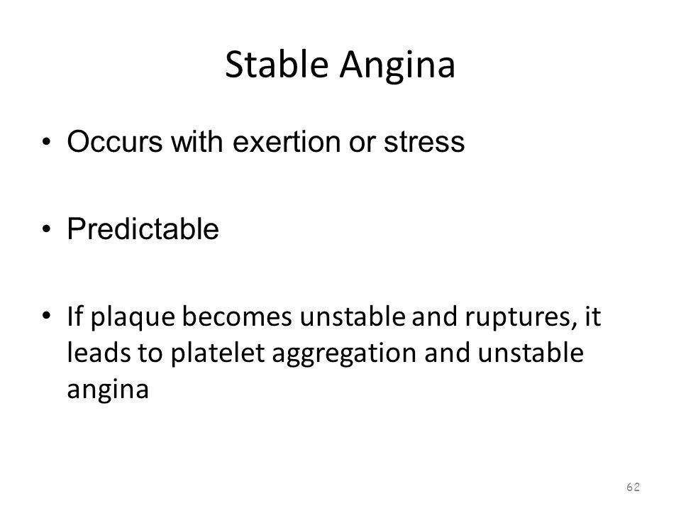 Stable Angina 61