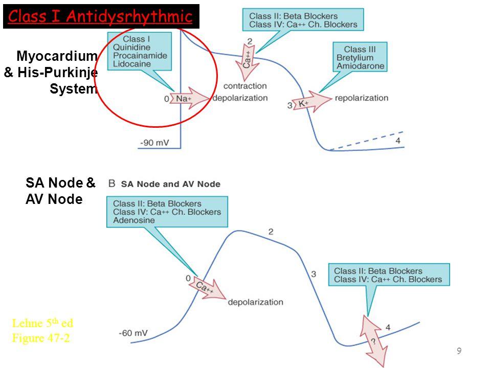Class I Antidysrhythmics Diagram 8
