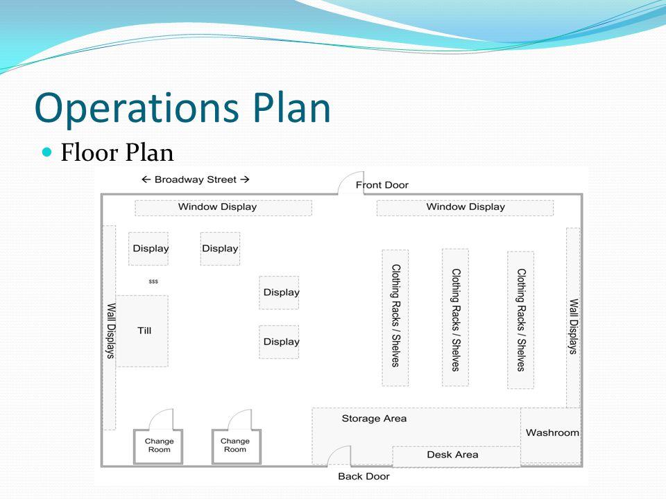 Operations Plan Floor Plan