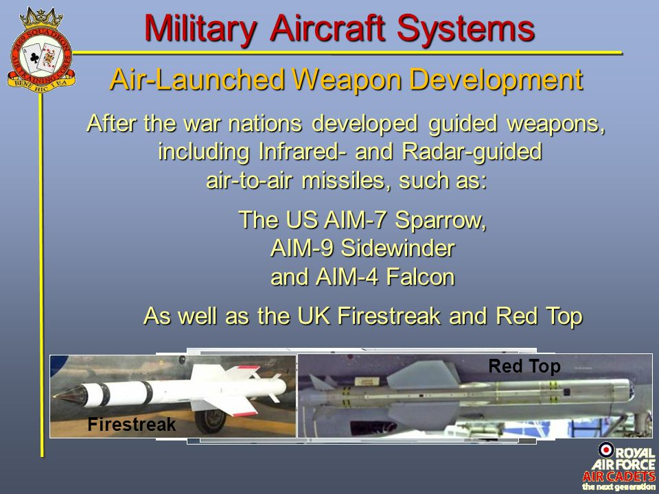 Guided Weapon Disadvantages Guided weapons are more complicated to integrate onto aircraft.