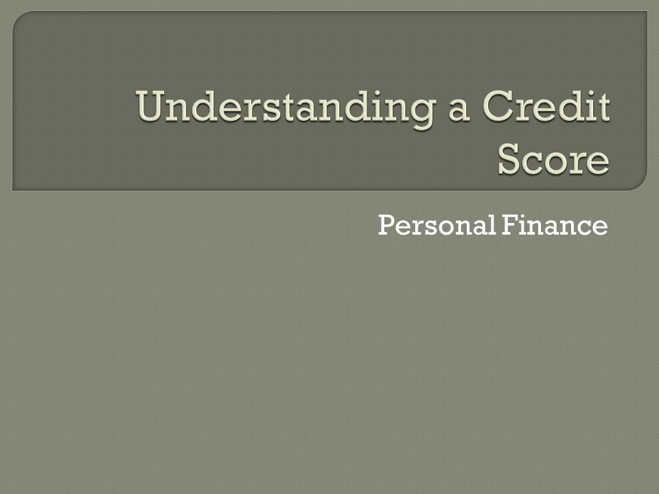  Who comes up with my credit score.