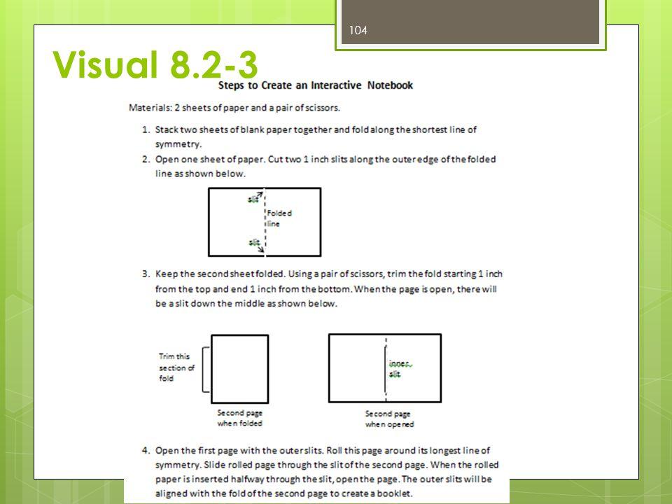 Visual 8.2-3 104
