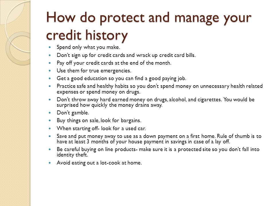 How can debt affect your future.