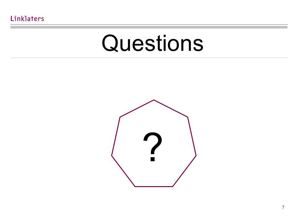 7 Questions ?