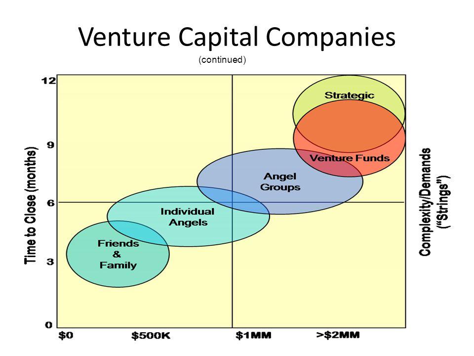 Venture Capital Companies (continued)