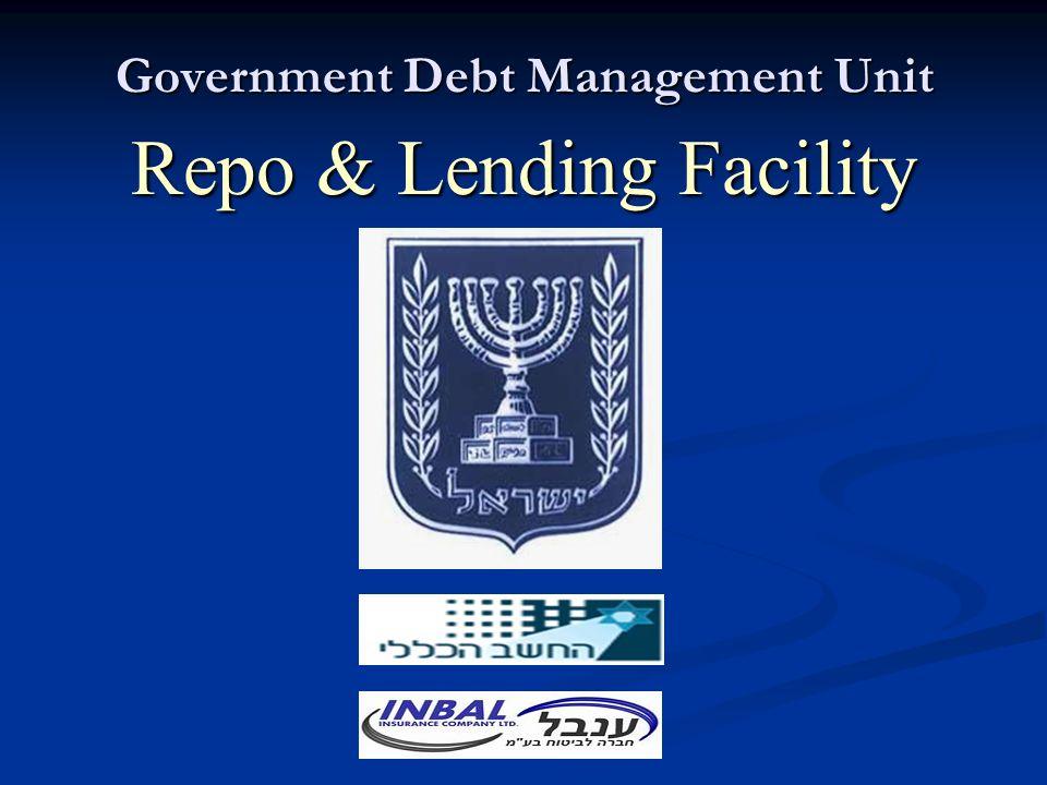 Government Debt Management Unit Repo & Lending Facility