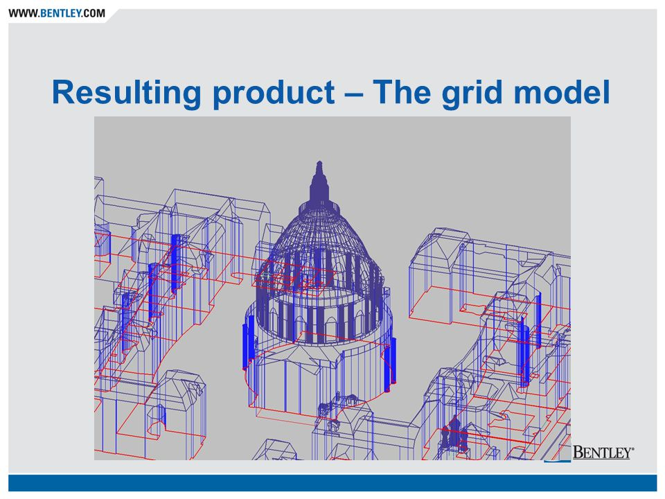 Resulting product – The grid model