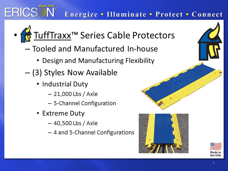 5 TuffTraxx Sales Collateral Datasheet Positioning Paper On-line Product Selector Sales Handbook Dedicated Micro-Site You-Tube Video's Samples