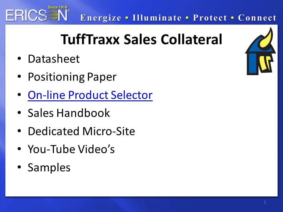 6 TuffTraxx Micro-Site: www.TuffTraxx.comwww.TuffTraxx.com