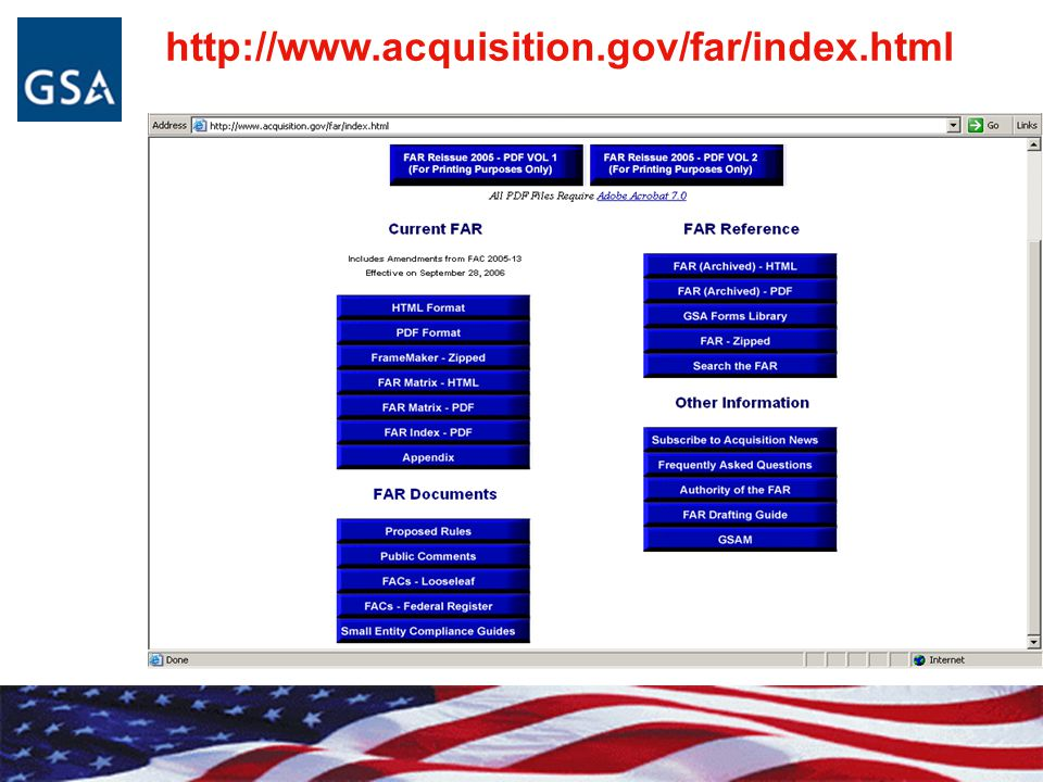 http://www.acquisition.gov/far/index.html