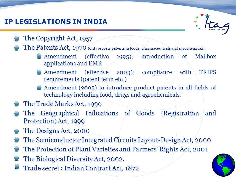 IP Infringement, Counterfeiting, Enforcement & Remedies IP Enforcing Agencies 1.