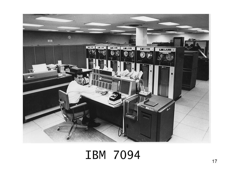 17 IBM 7094