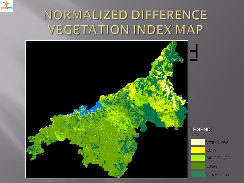 LEGEND NDVI VERY HIGH LOW MODERATE VERY LOW HIGH