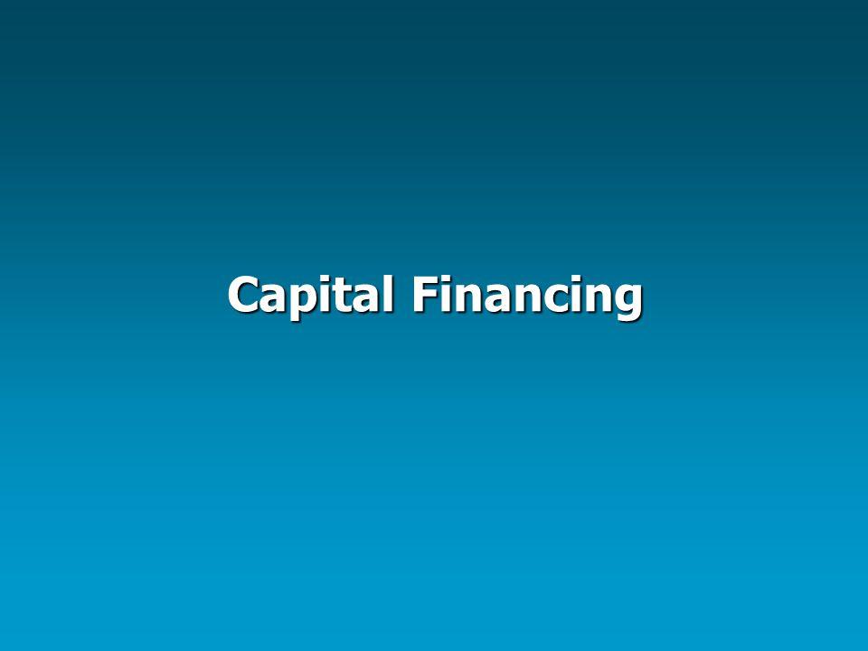 Capital Financing