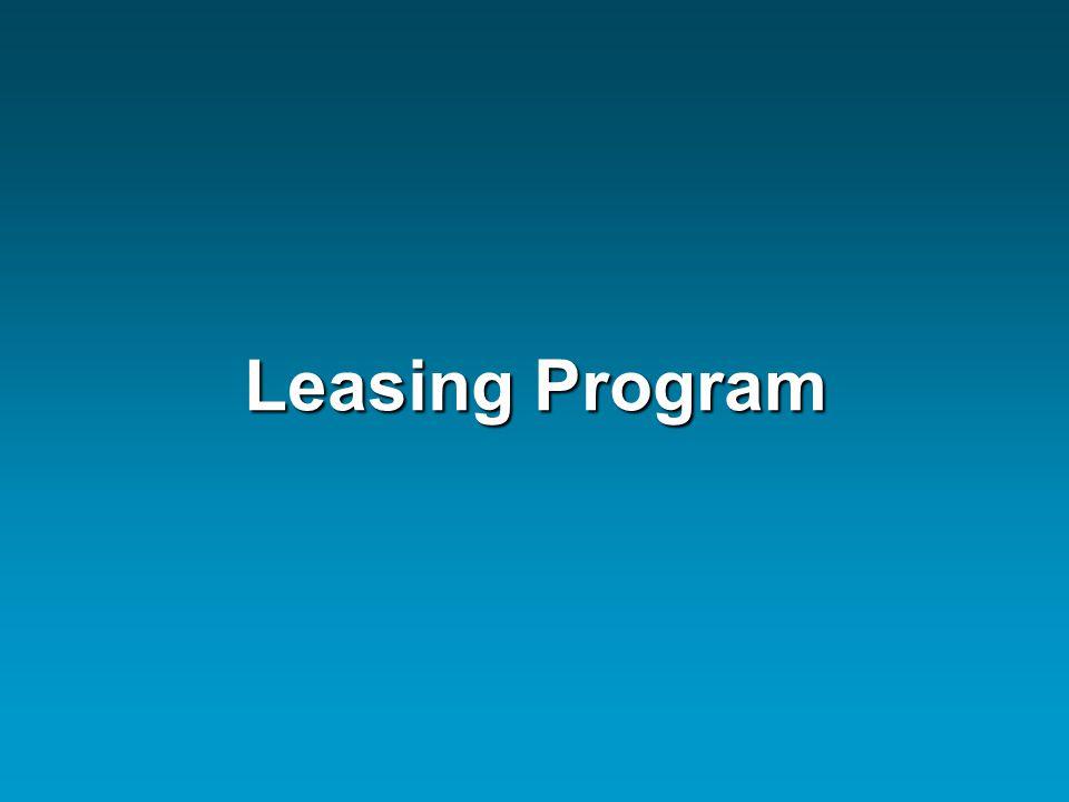 Leasing Program