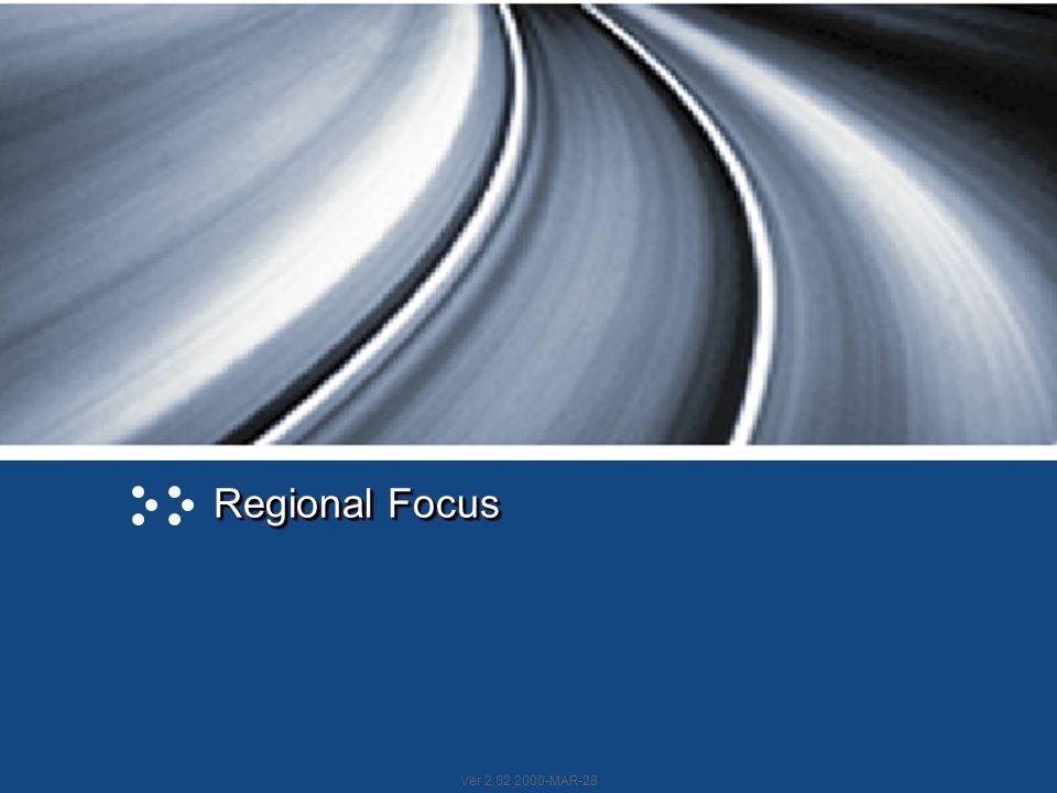 Ver 2.02 2000-MAR-28 Regional Focus
