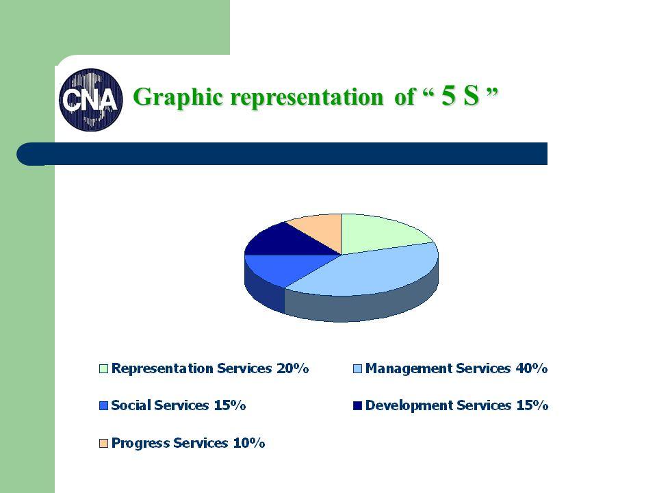 Graphic representation of 5 S