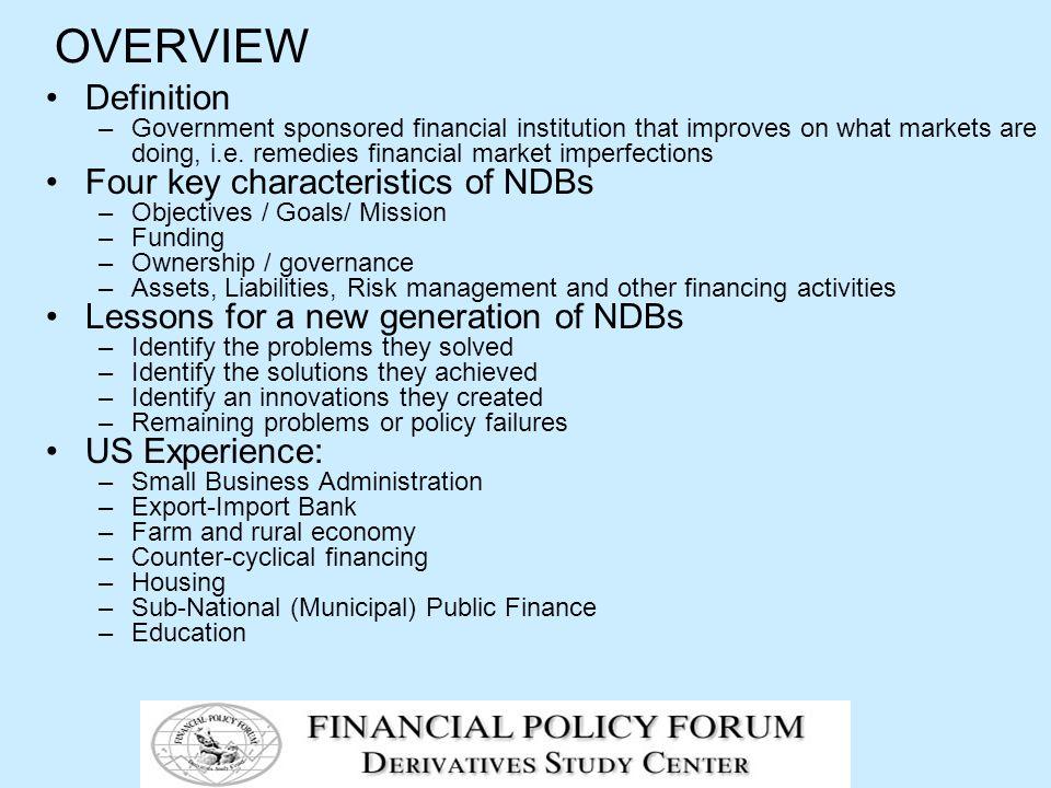 Key Programs - continued Small Business Programs Loan guarantees.