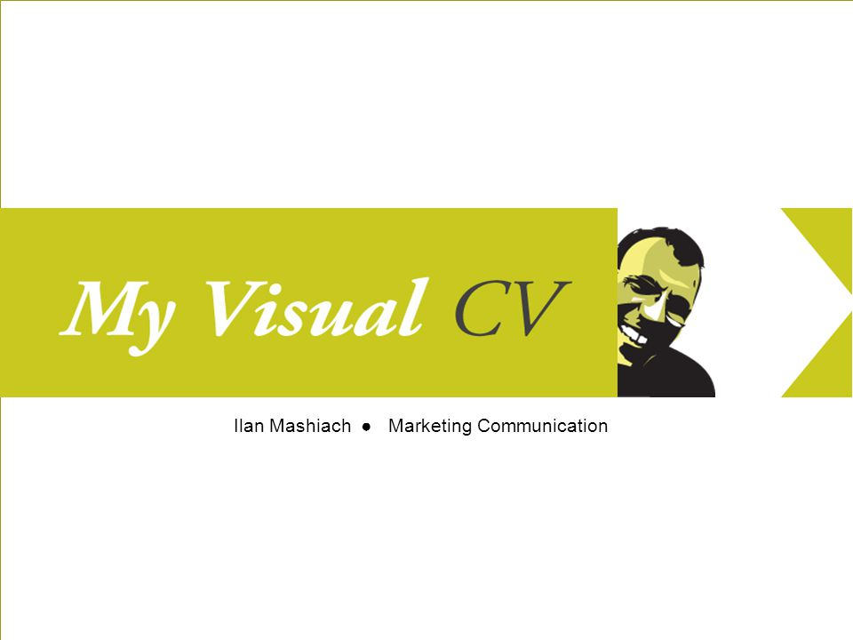 Welcome to my visual CV, a visual tour through my work as a Marketing Communication Professional.