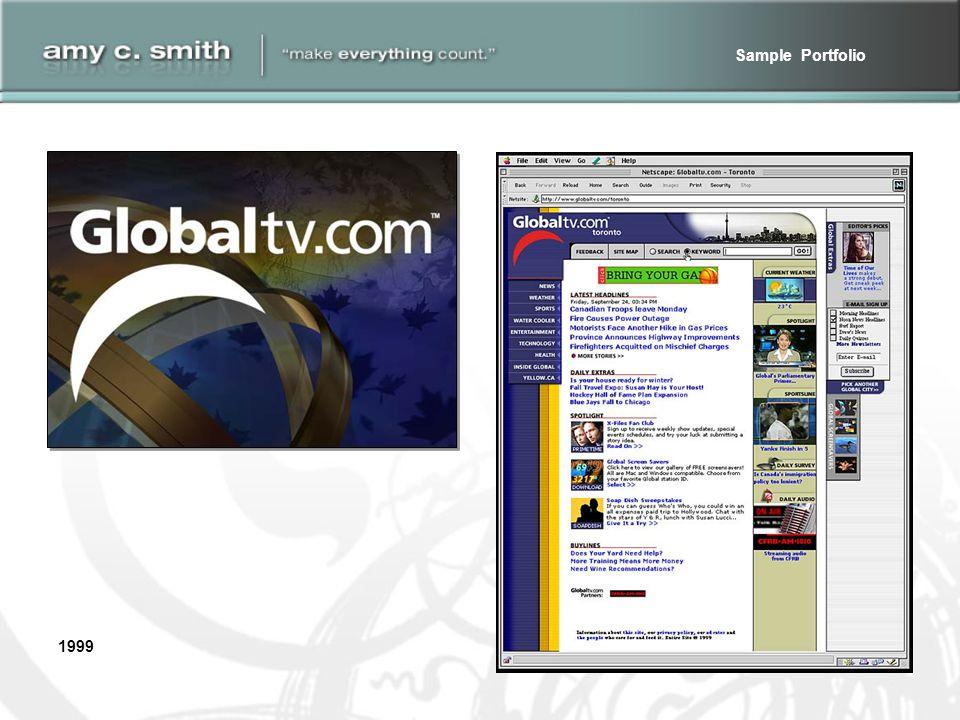 Sample Portfolio 1999