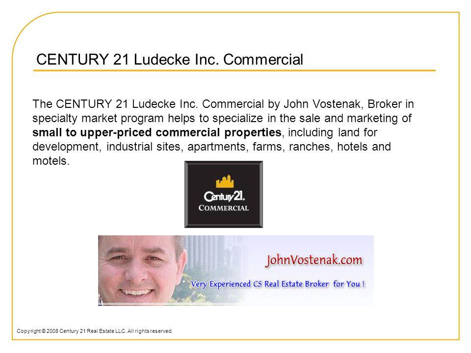CENTURY 21 Ludecke Inc. Commercial by John Vostenak, Broker