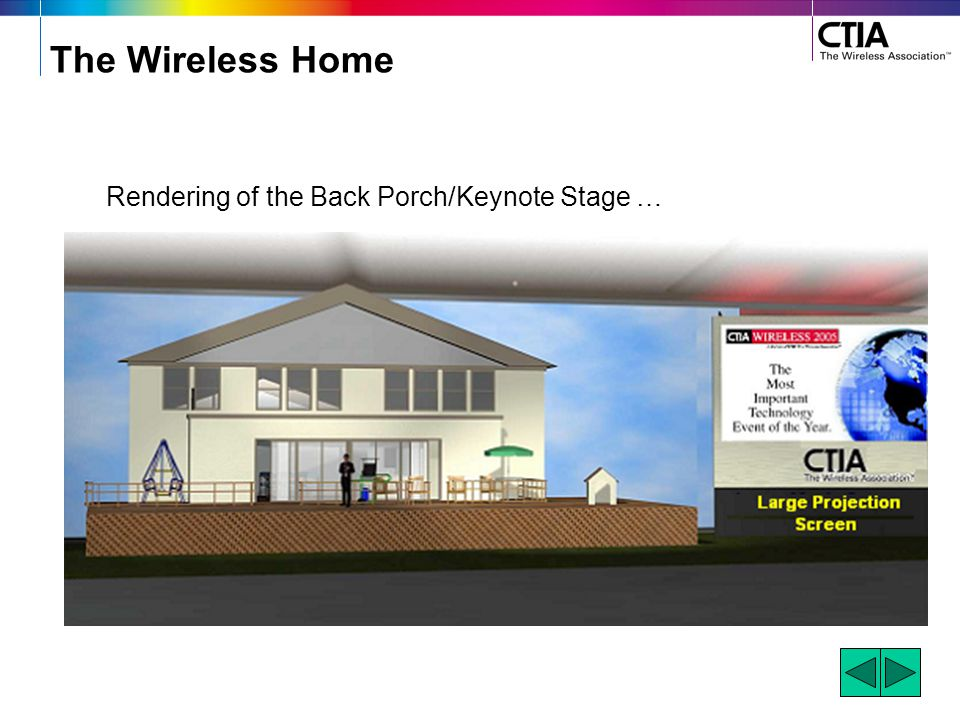 The Wireless Home Be a sponsor of the home through the provision of a single product, an entire room of products or even a household full of products.