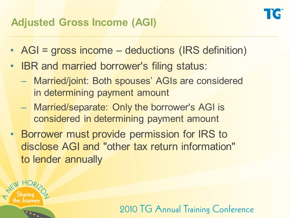 Change effective July 1, 2010 Final rules published on October 29, 2009 will soon allow both the borrower's and spouse's eligible loans to be used in determining whether each borrower has a PFH if the married couple files a joint tax return.